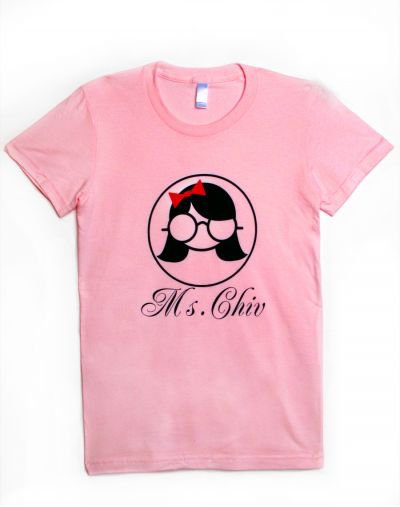 "Pour la saint valentin Diggy Simmons & Jessica on mis pour notre disposions un tee-shirt ""Ms Chiv Culture collection"""