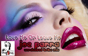 Joe Parra Unreleased Tribe Mix / Love Me Or Leave Me (2011)