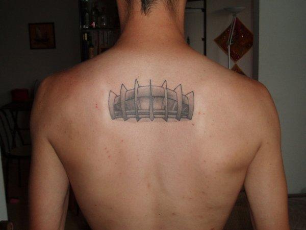 tatouages de supporters - réunion de deux passions : le foot et les