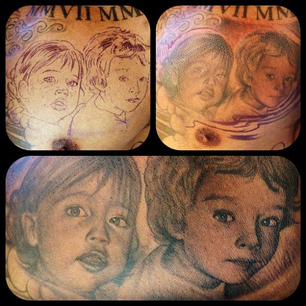 Plus de tatouages