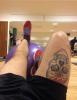 Nouveaux tatouage (Anton Hysen)