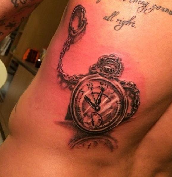 Nouveau Tatouage (Ezekiel Lavezzi)