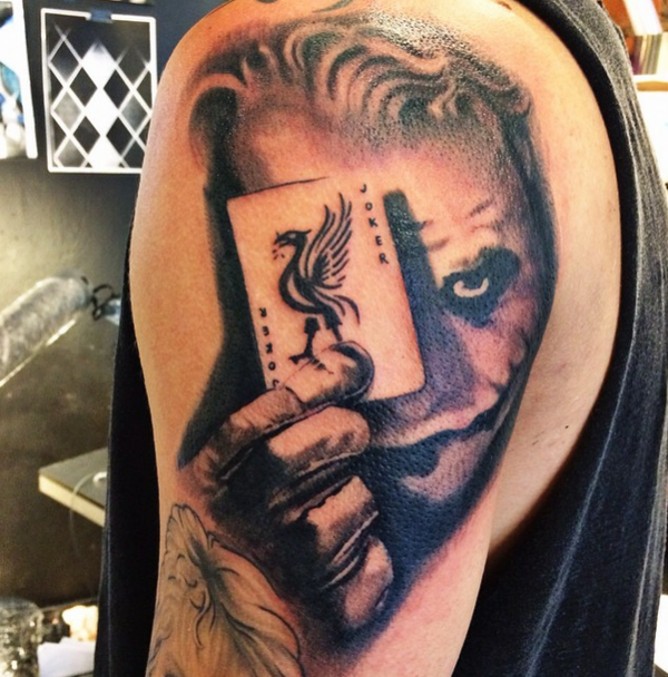 Nouveaux tatouages (Anton Hysen)