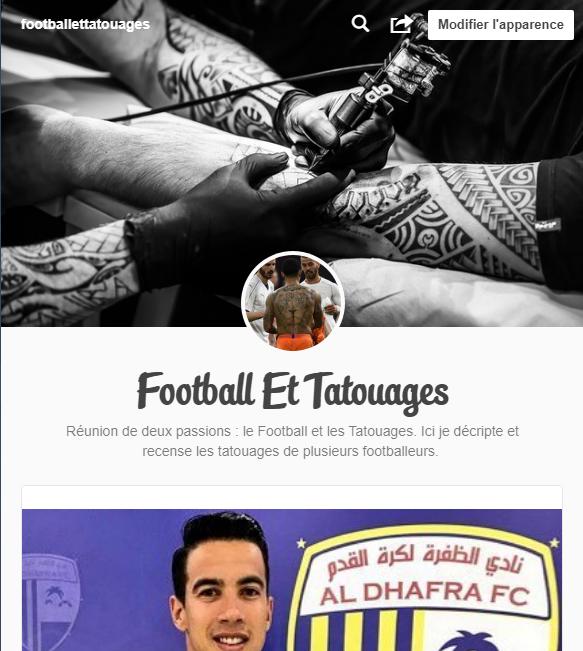 Blog De Football Et Tatouages Réunion De Deux Passions