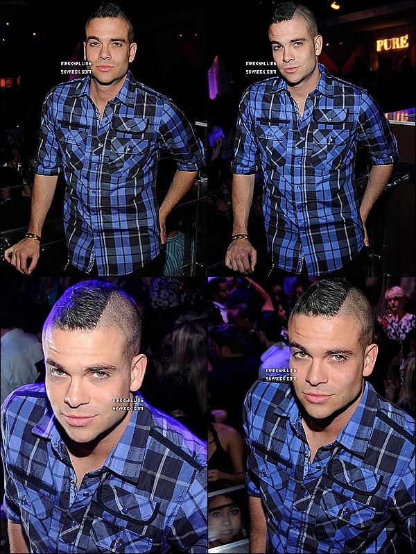 19 mars 2011 ~ Mark organisait une soirée privée au nightclub « Pure » qui ce déroulait à Montréal.