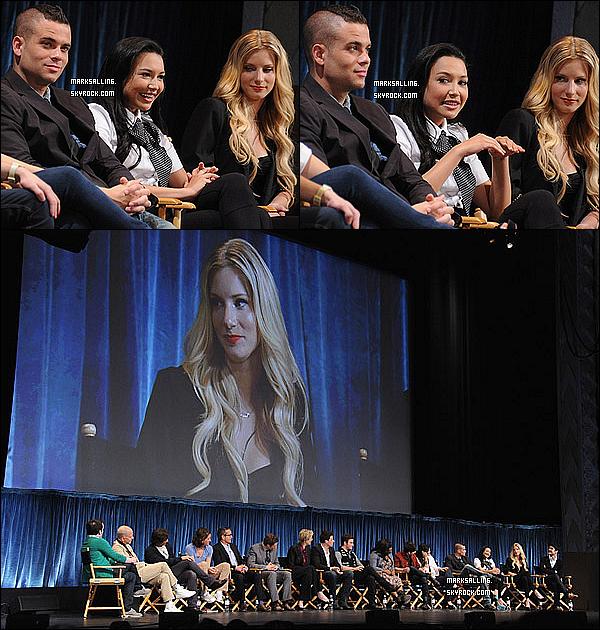 16 mars 2011 ~ Mark et le cast de Glee au « Paleyfest ». Ils ont répondu à des questions sur la série.