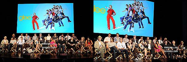 04 mai 2011 ~ Mark et le cast de Glee à une conférence de presse organisée par la chaîne FOX. Malheureusement nous n'avons pas plus de photos de Mark car il n'a pas poser par la case paparazzi... dommage pour nous.