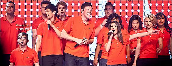 23 mai 2011 ~ Le cast de Glee donner à nouveau un concert mais cette fois à Sacremento en Californie.