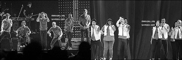 27 mai 2011 ~ Le cast de Glee donner à nouveau un concert mais cette fois à Anaheim en Californie.