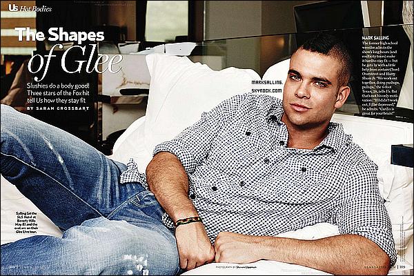 Mark fait partie de la Hot Bodies du magazine US Weekly , voici les deux scans ou il apparait.