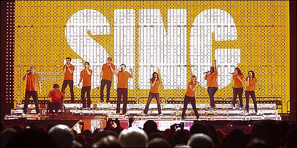 09 juin 2011 ~ Le cast de Glee donner à nouveau un concert, cette fois à Washington aux Etats-Unis.