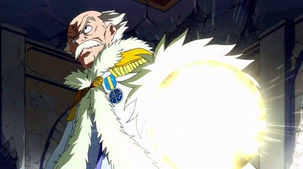 Makarof, maître de la guilde de Fairy Tail