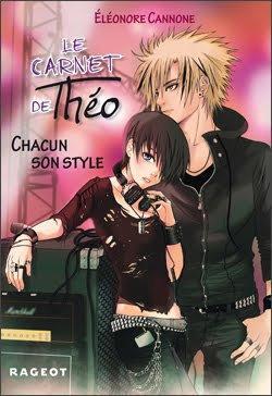 Le carnet de Théo : Chacun son style (Tome 2 de Eléonore Cannone)