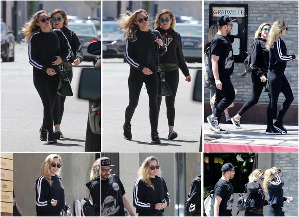 15.05.2018 : Miley Cyrus a été vu quittant le restaurant « Grandville » après avoir déjeuner à Studio City