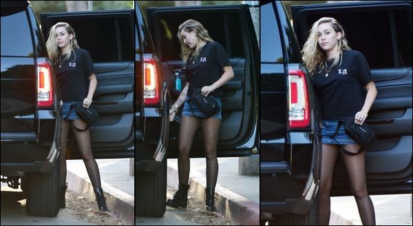 10.06.2018 : Miley  a été vu allant chez des amis avec Liam (qui n'apparaît pas sur les photos) à Los Angeles