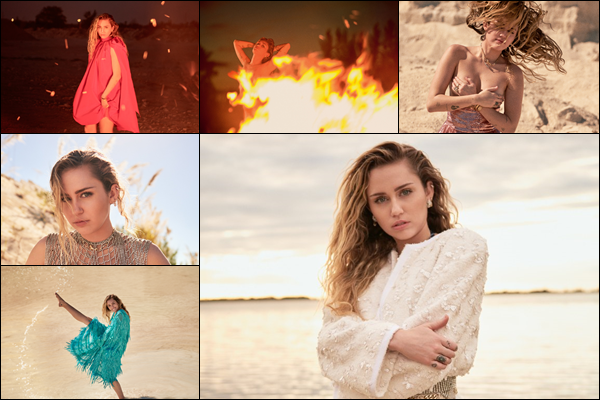 La belle Miley Cyrus fera la couverture du magazine « Vanity Fair » de Mars 2019