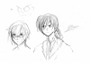Les Ptits Croquis - Kogashi et un gars ...