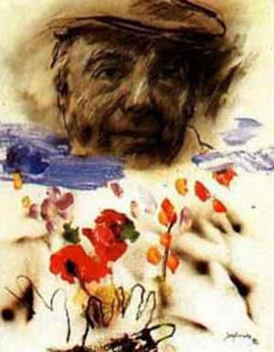 Un beau poème de Pablo Neruda (poète chilien)