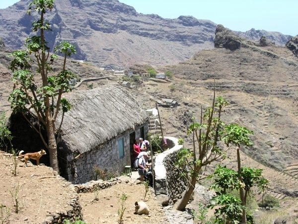 Souvenir du trekking au Cap Vert (mai 2006)