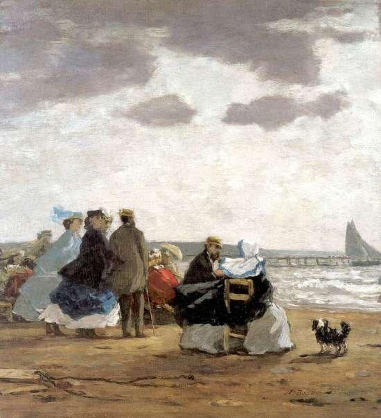 Citations du jour... et peinture d'Eugène Boudin