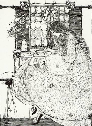 """""""La grammaire magique""""  Jessie Marion King (1876-1949)"""