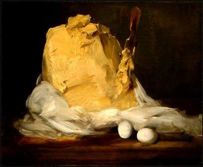 """La motte de beurre""    Antoine Vollon  (1833-1900)"