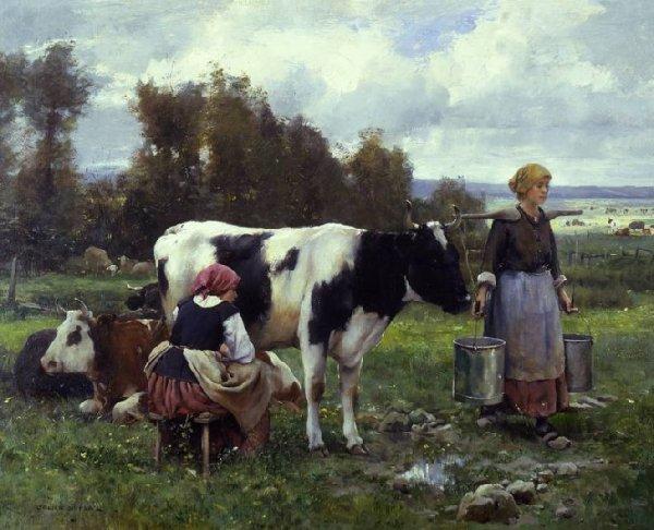 Julien Dupré     (1851-1910)    né le 19 mars 1851