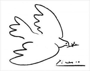 Picasso     (1881-1973)     La Colombe de la Paix