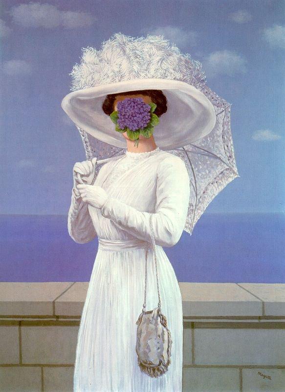 Hommage à René Magritte décédé le 15 Août 1967  (1898-1967)