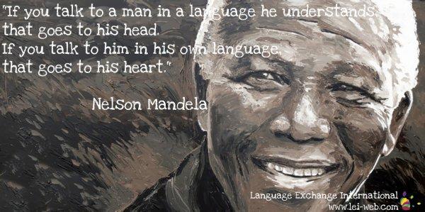 Méditons sur ces citations du jour... de Nelson Mandela