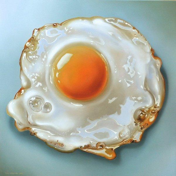 Que diriez-vous d'un oeuf au plat au petit déjeuner ?