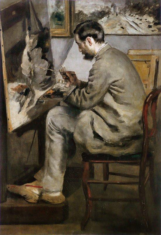 Hommage à Pierre Auguste Renoir décédé le 3 décembre 1919 à l'âge de 78 ans