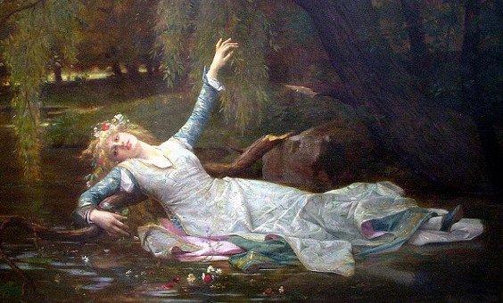 """Un peu de poésie... avec Arthur Rimbaud  (1854-1891)   """"Ophélie"""""""