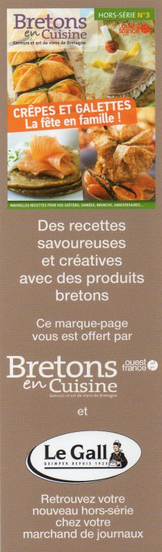 Marque-pages bretons