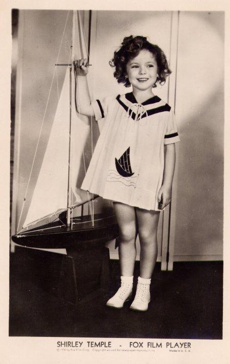 Shirley Temple nous a quittés hier soir, elle avait 85 ans...