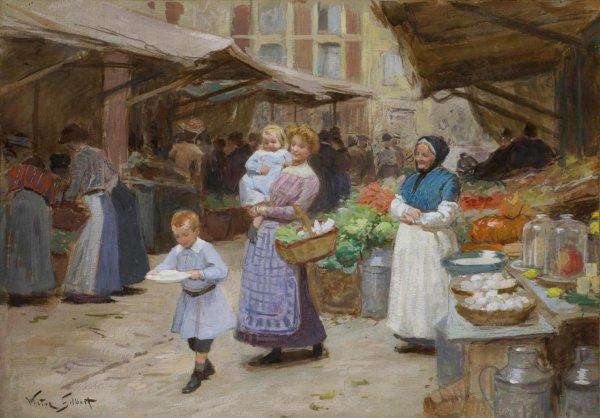 Hommage à Victor Gabriel Gilbert  (1847-1933)
