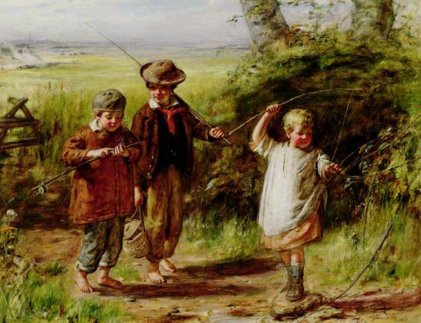 Si nous allions à la pêche à la ligne ?