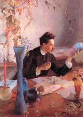Hommage à Emile Gallé   (1846-1904)