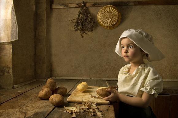 Les pommes de terre vues par les peintres