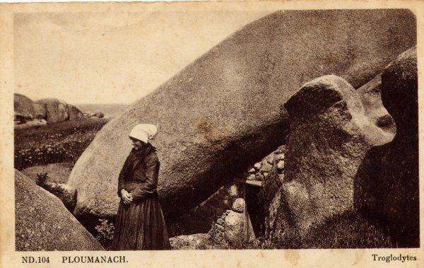 """Extrait de ma collection de cartes postales anciennes """"Nature"""" Rochers"""