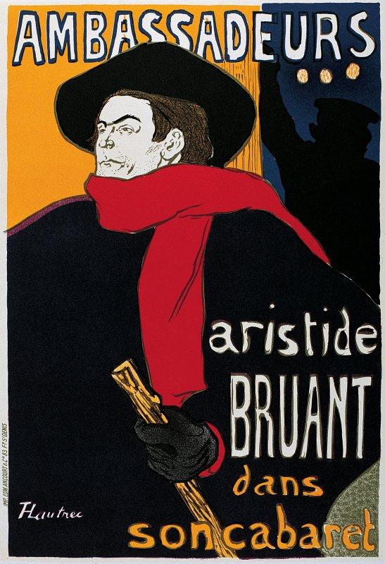 Hommage à Aristide Bruant  (1851-1925)