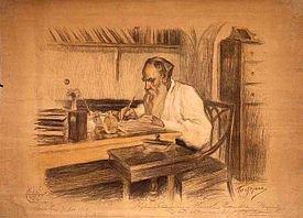 Hommage à Léon Tolstoï né le 9 septemnbre 1828   (1828-1910)