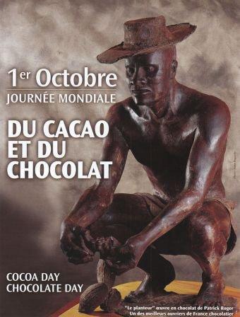 1er octobre = Journée Mondiale du Chocolat