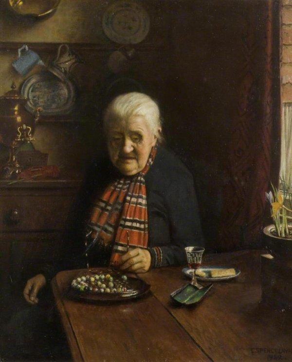 Hommage à Charles Spencelayh  né le 27 octobre 1865   (1865-1958)