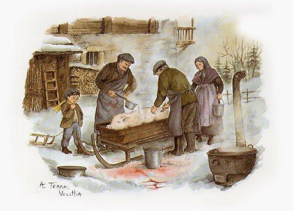 L'Automne est la saison des cochonailles en Alsace... et ailleurs