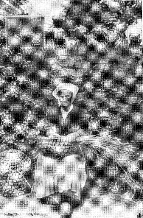 Les petits métiers d'antan en  Bretagne ...