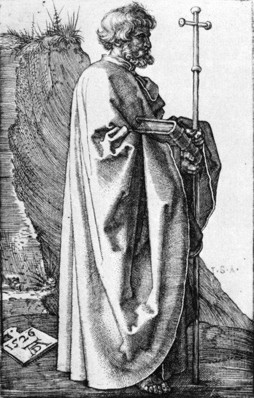 St-Philippe l'Apôtre,  patron des chapeliers et des merciers
