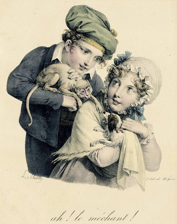 Coup de coeur du jour...Louis Léopold Boilly   (1761-1845)  peintre miniaturiste