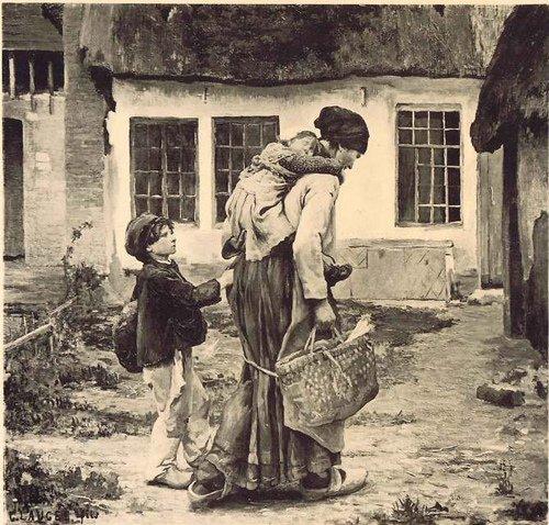 17 octobre  =  Journée Mondiale du refus de la misère  -  Un peu de poésie avec Jean Richepin   (1849-1926)
