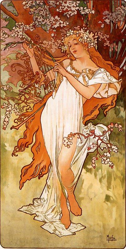 Hommage à Alfons Mucha  mort le 14 juillet 1939    (1860-1939)
